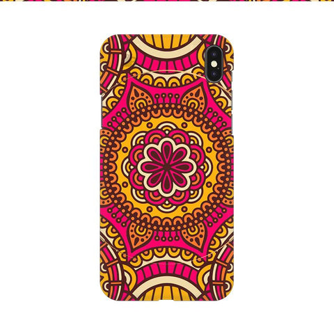 Colorful Ethnic Art Apple iPhone 9 Cover