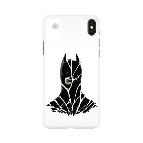 Cracked Superhero Apple iPhone 9 Cover