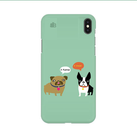 Cute Dog Buddies Apple iPhone 9 Cover