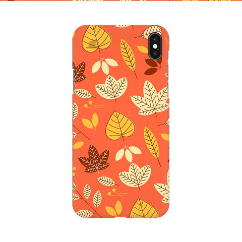 Cute Leaves Pattern Apple iPhone 9 Cover