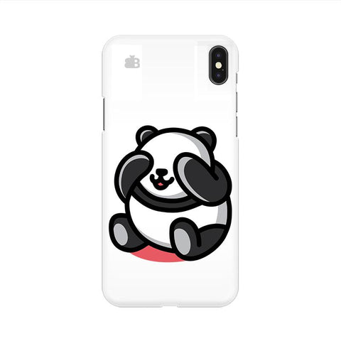 Cute Panda Apple iPhone 9 Cover
