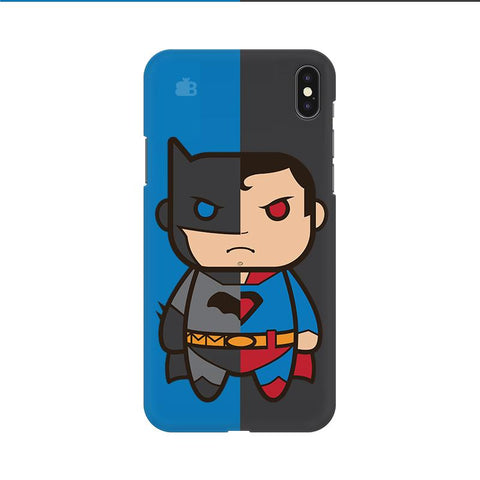 Cute Superheroes Annoyed Apple iPhone 9 Cover