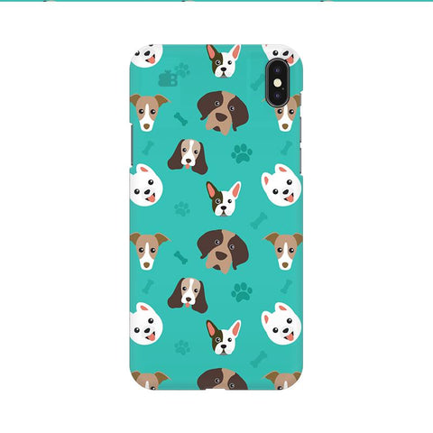 Doggie Pattern Apple iPhone 9 Cover