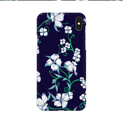 Dogwood Floral Pattern Apple iPhone 9 Cover