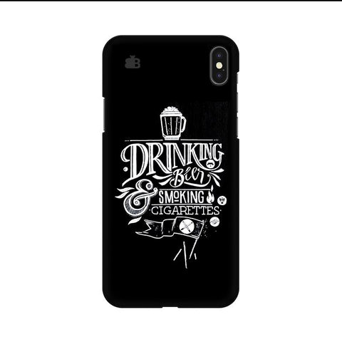 Drinking Beer Apple iPhone 9 Cover