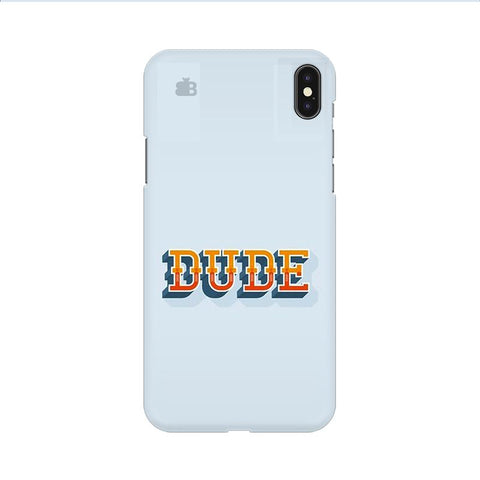 Dude Apple iPhone 9 Cover