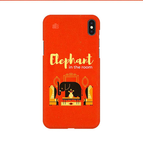 Elephant in the room Apple iPhone 9 Cover