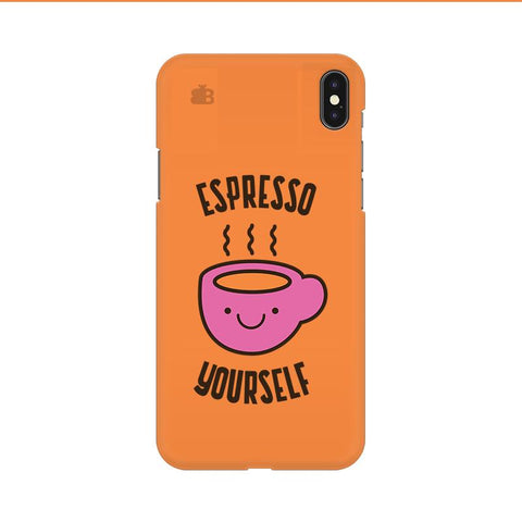 Espresso Yourself Apple iPhone 9 Cover