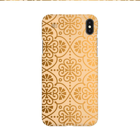 Ethnic Gold Ornament Apple iPhone 9 Cover