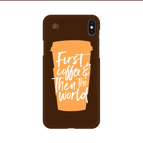 First Coffee Apple iPhone 9 Cover
