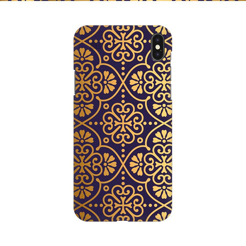 Gold Ornament Apple iPhone 9 Cover
