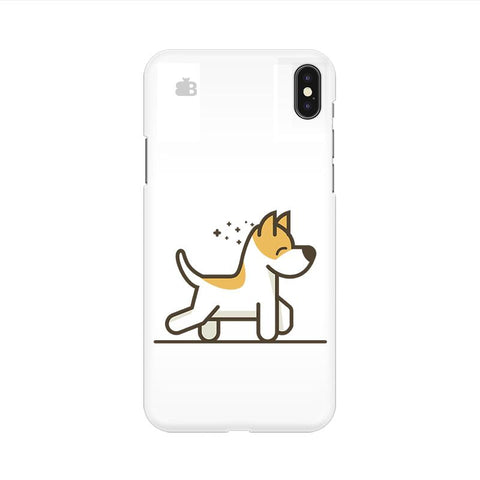 Happy Puppy Apple iPhone 9 Cover