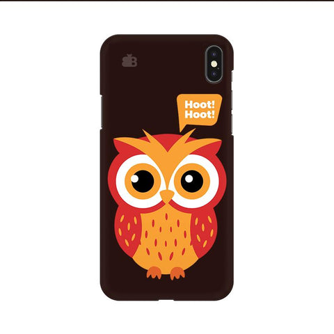 Hoot Hoot Apple iPhone 9 Cover