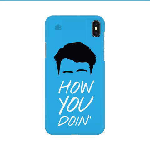 How you Doin Apple iPhone 9 Cover