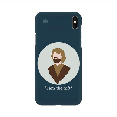 I am the gift Apple iPhone 9 Cover