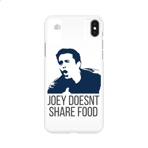 Joey doesnt share food Apple iPhone 9 Cover