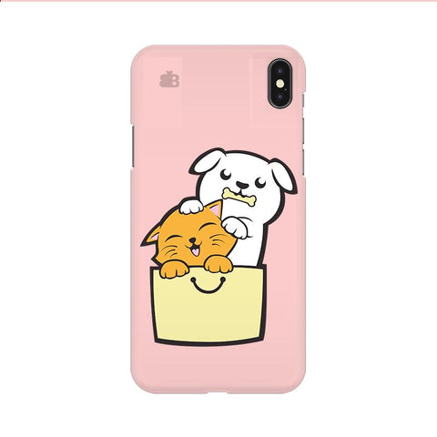 Kitty Puppy Buddies Apple iPhone 9 Cover