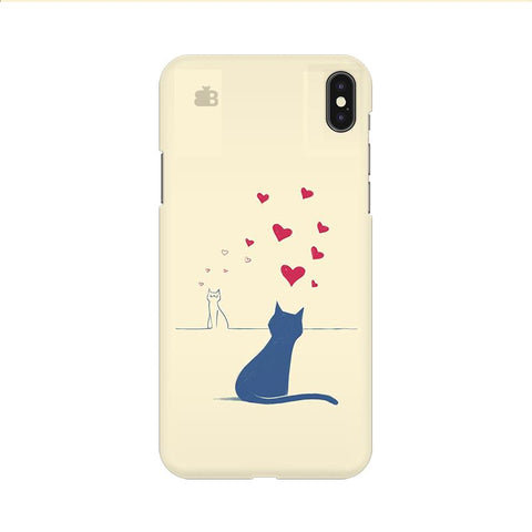 Kitty in Love Apple iPhone 9 Cover