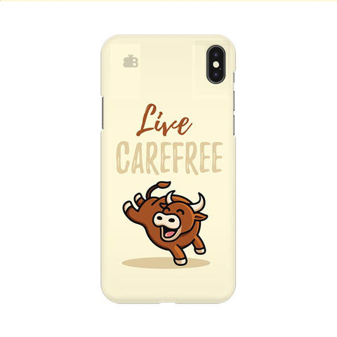 Live Carefree Apple iPhone 9 Cover