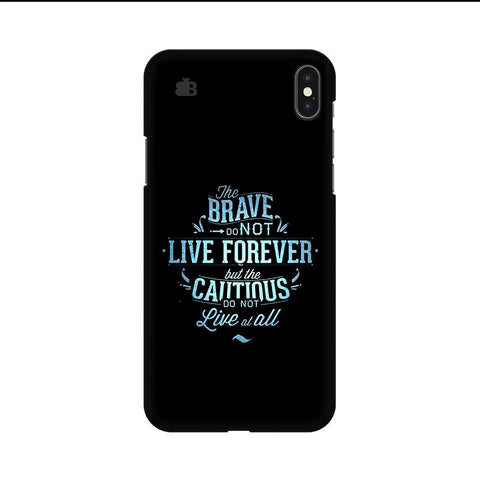 Live Forever Apple iPhone 9 Cover