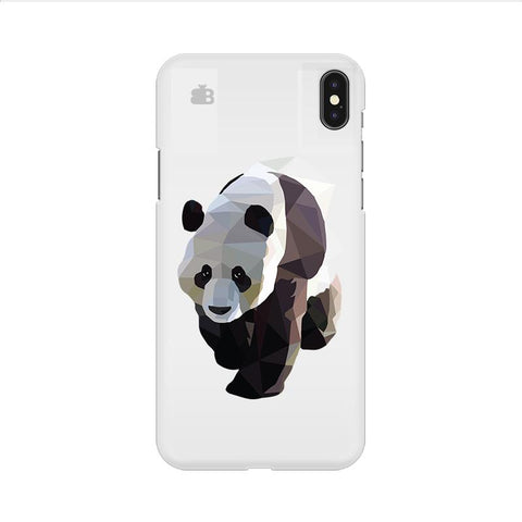 Low Poly Panda Apple iPhone 9 Cover