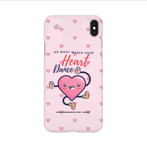 Make Your Heart Dance Apple iPhone 9 Cover