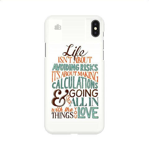 Making Calculations Apple iPhone 9 Cover