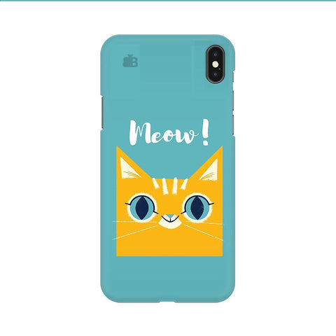 Meow Apple iPhone 9 Cover