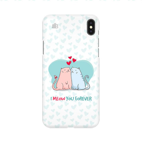 Meow You Forever Apple iPhone 9 Cover