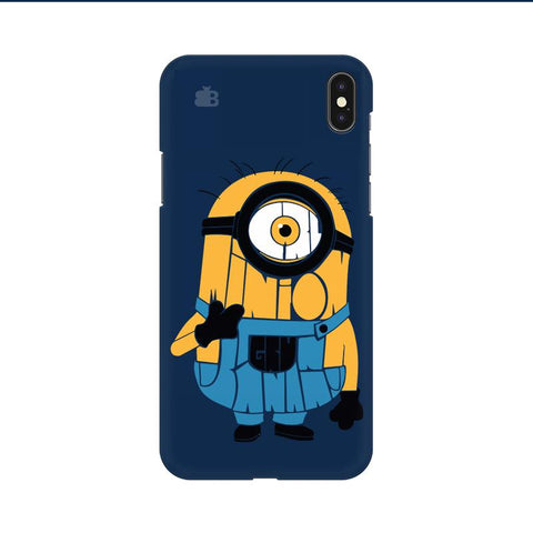 Minion Typography Apple iPhone 9 Cover