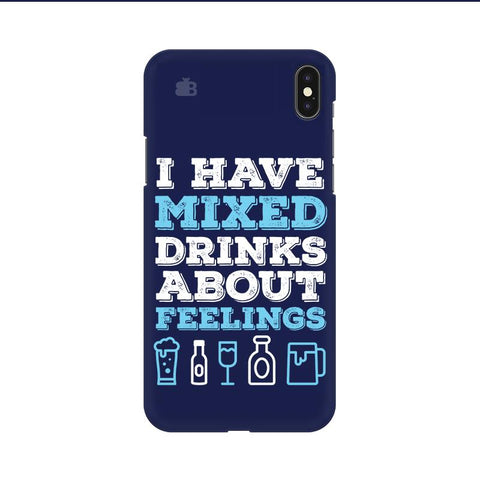 Mixed Drinks Apple iPhone 9 Cover