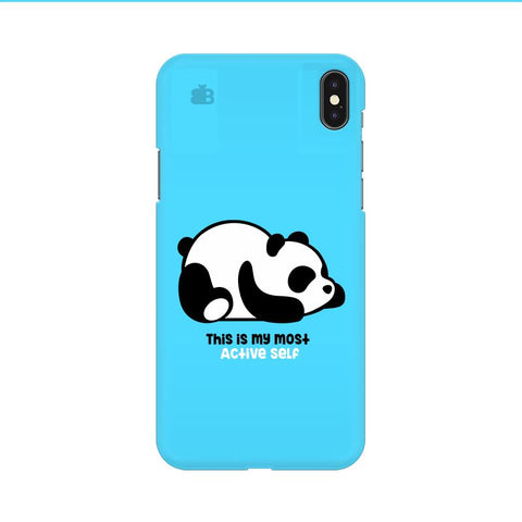 Most Active Panda Apple iPhone 9 Cover