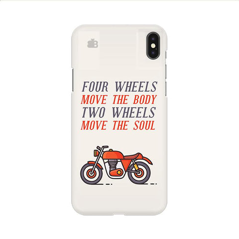Motorcyclist Apple iPhone 9 Cover