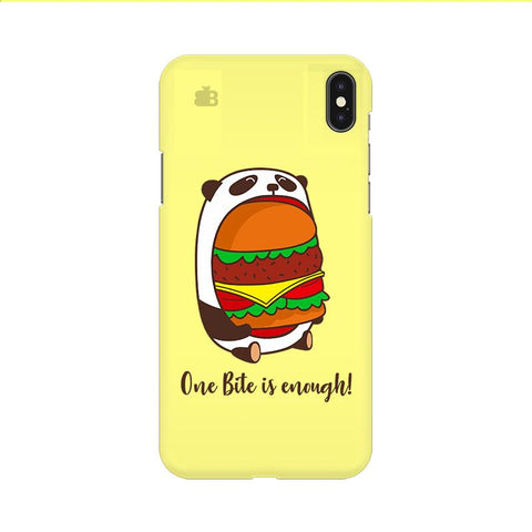 One Bite Apple iPhone 9 Cover