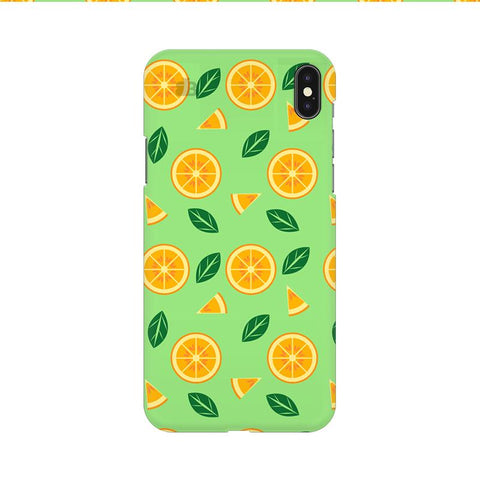 Oranges Apple iPhone 9 Cover