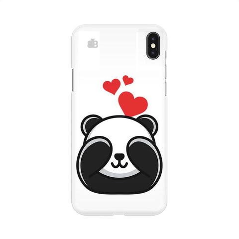 Panda In Love Apple iPhone 9 Cover