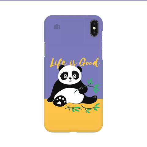 Panda Life is Good Apple iPhone 9 Cover