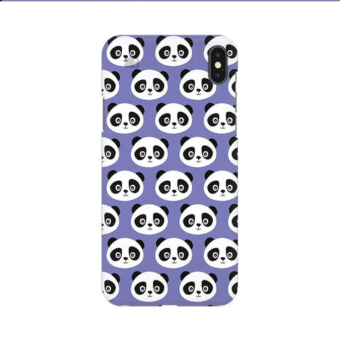 Panda Pattern Apple iPhone 9 Cover