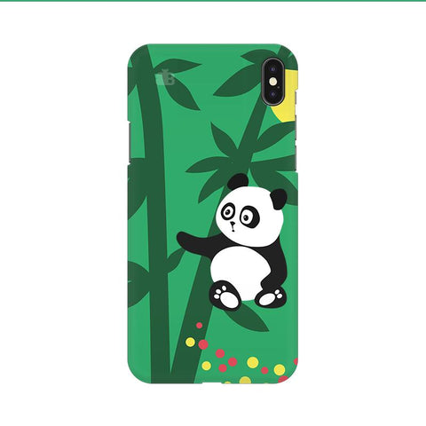 Panda in Woods Apple iPhone 9 Cover