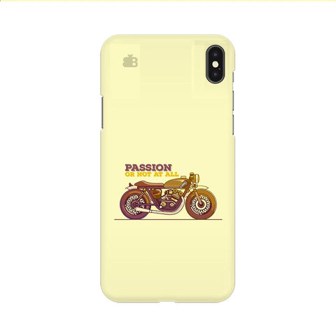 Passion for Motor Apple iPhone 9 Cover
