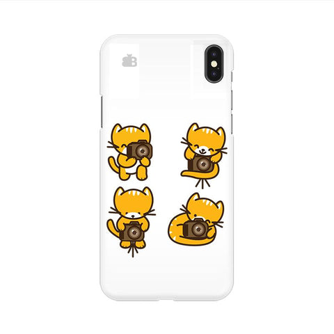 Photographer Kitty Apple iPhone 9 Cover