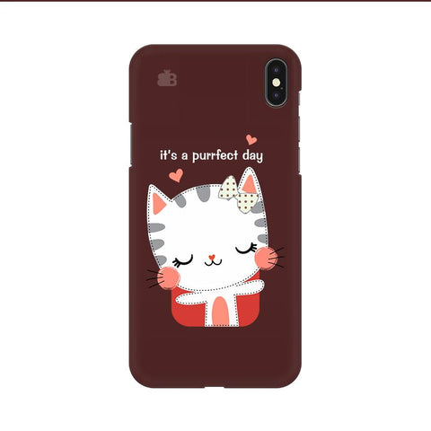 Purrfect Day Apple iPhone 9 Cover