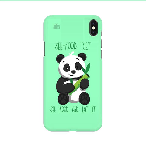 See-Food Diet Apple iPhone 9 Cover
