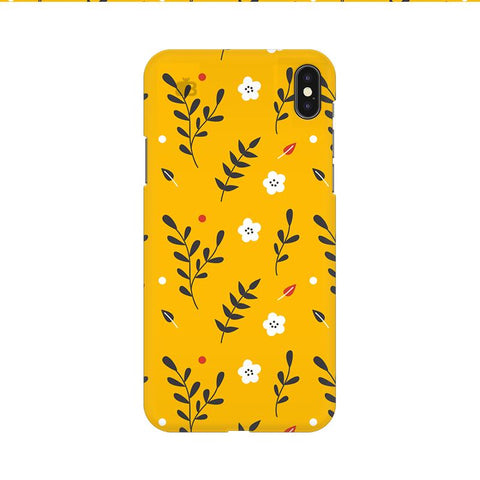 Summer Floral Pattern Apple iPhone 9 Cover