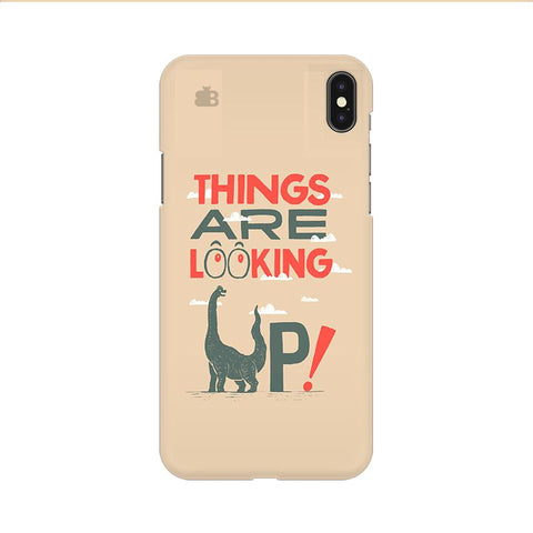 Things are looking Up Apple iPhone 9 Cover