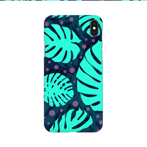 Tropical Leaves Pattern Apple iPhone 9 Cover
