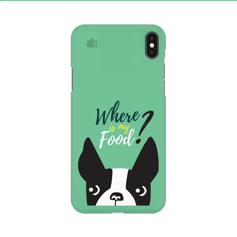 Where is my Food Apple iPhone 9 Cover
