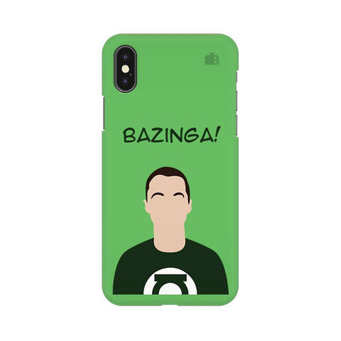 Bazinga Apple iPhone 9 Plus Cover
