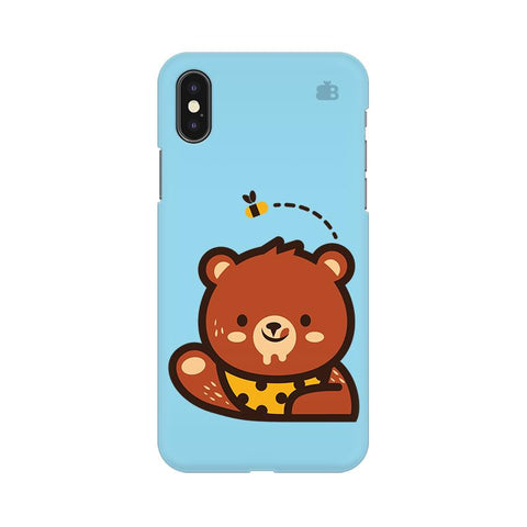 Bear Loves Honey Apple iPhone 9 Plus Cover