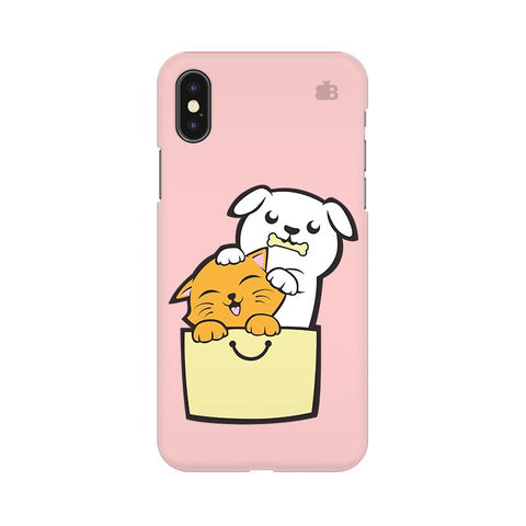Kitty Puppy Buddies Apple iPhone 9 Plus Cover